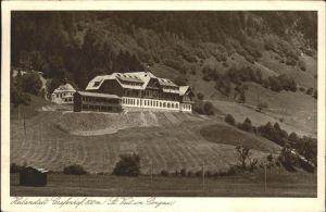 Sankt Veit Pongau Heilanstalt Grafenhof / Sankt Veit im Pongau /Pinzgau-Pongau