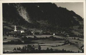 Sankt Veit Pongau Teilansicht St. Veit Salzach Salzburger Land / Sankt Veit im Pongau /Pinzgau-Pongau