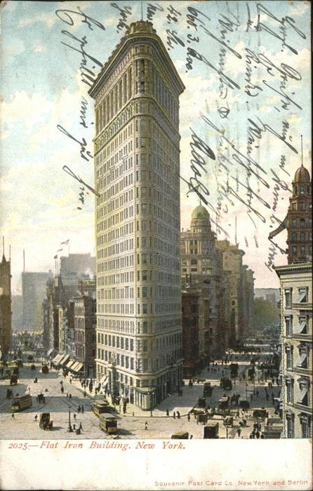 New York City Flat Iron Building / New York /