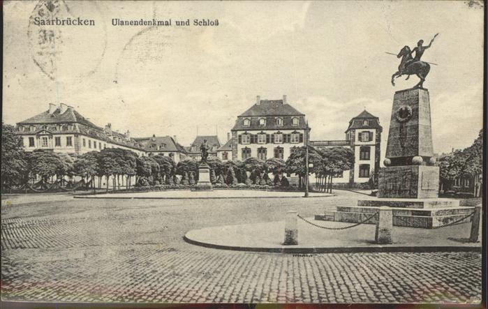 Saarbr?cken Ulanendenkmal Schloss