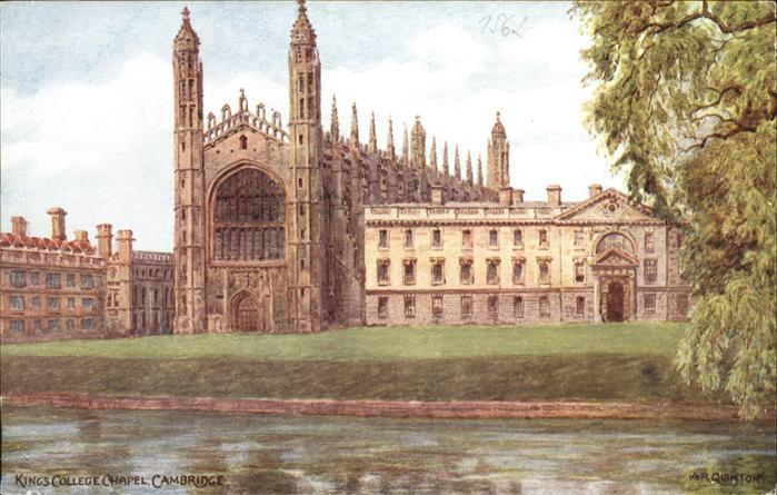 Cambridge Cambridgeshire Kings College Chapel / Cambridge /Cambridgeshire CC