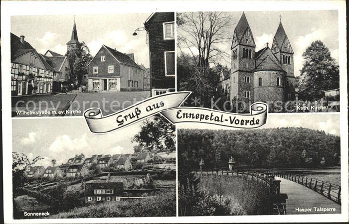 Voerde Ennepetal Wilhelmstrasse Hasper Talsperre Sonneneck / Ennepetal /Ennepe-Ruhr-Kreis LKR