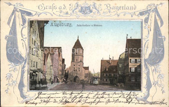 Augsburg Jakobsthor Strasse / Augsburg /Augsburg LKR