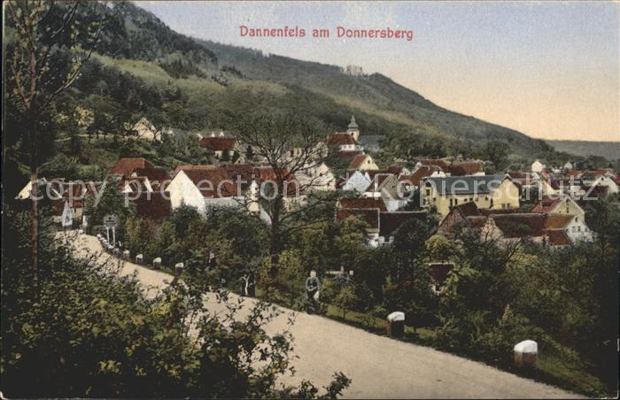 Dannenfels mit Donnersberg / Dannenfels /Donnersbergkreis LKR