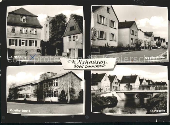 Wixhausen Goethestrasse / Darmstadt /Darmstadt Stadtkreis