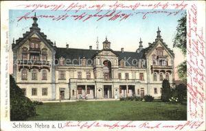 Nebra Unstrut Schloss Goldfenster / Nebra Unstrut /Burgenlandkreis LKR