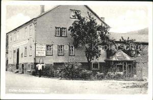 Waldmichelbach Gasthaus zur goldenen Krone Johann Walter / Wald-Michelbach /Bergstrasse LKR