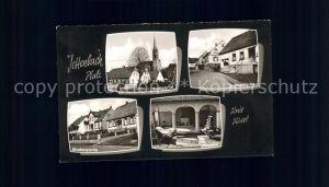 Jettenbach Pfalz Kirchpartie Strassenpartie Ehrenmal / Jettenbach /Kusel LKR
