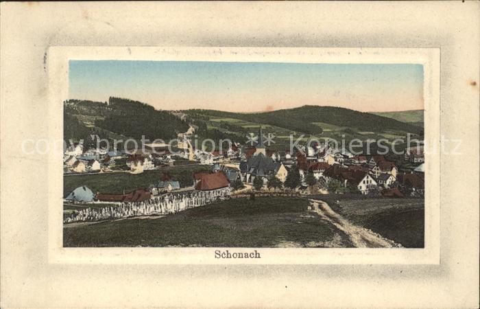 Schonach Schwarzwald  / Schonach im Schwarzwald /Schwarzwald-Baar-Kreis LKR