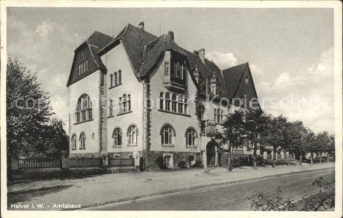Halver Amtshaus / Halver /Maerkischer Kreis LKR