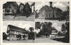 Zusenhofen Schule Kriegerdenkmal Gasthaus zur Linde  / Oberkirch /Ortenaukreis LKR