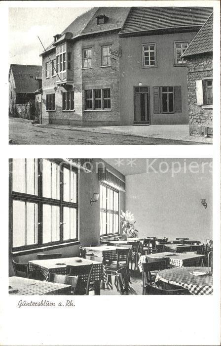 Guntersblum Gasthaus zum Adler / Guntersblum /Mainz-Bingen LKR