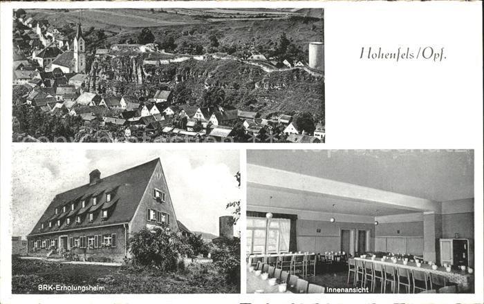 Hohenfels Oberpfalz BRK Erholungsheim Innenansicht / Hohenfels /Neumarkt LKR