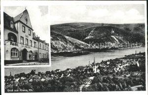 Rhens Hotel zum roten Ochsen  / Rhens /Mayen-Koblenz LKR