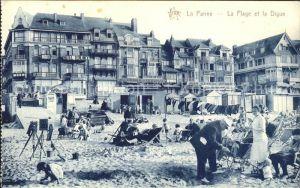La Panne Alpes-Maritimes La Plage et la Digue / La Panne /Arrond. de Nice