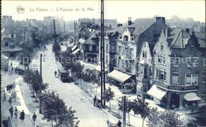 La Panne Alpes-Maritimes Avenue de la Mer / La Panne /Arrond. de Nice