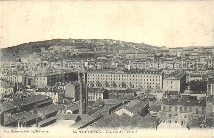 Saint-Etienne Loire Caserne d'Infanterie / Saint-Etienne /Arrond. de Saint-Etienne