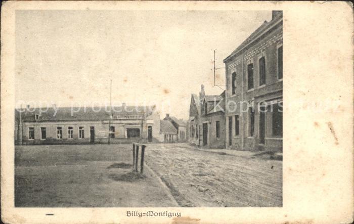 Billy-Montigny Strassenpartie / Billy-Montigny /Arrond. de Lens