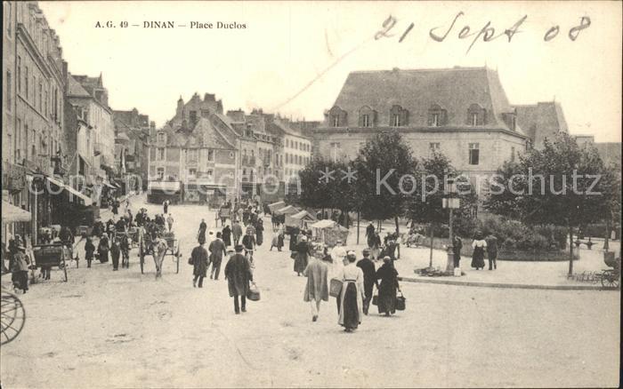 Dinan Place Duclos / Dinan /Arrond. de Dinan