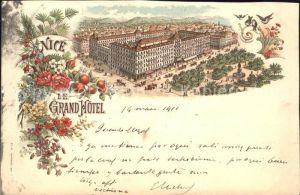 Nice Alpes Maritimes Grand Hotel / Nice /Arrond. de Nice