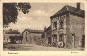 Bazancourt Marne Kirchplatz Kriegserinnerungskarte / Bazancourt /Arrond. de Reims