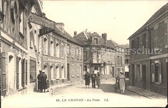 Le Crotoy La Poste / Le Crotoy /Arrond. d Abbeville