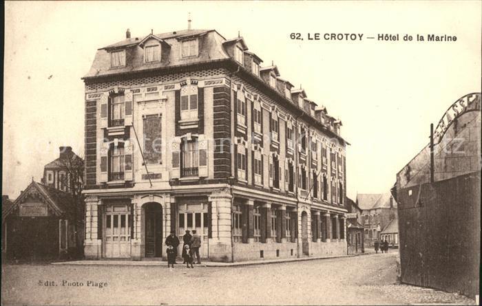 Le Crotoy Hotel de la Marine / Le Crotoy /Arrond. d Abbeville