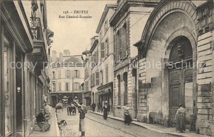 Troyes Aube Rue General Saussier / Troyes /Arrond. de Troyes