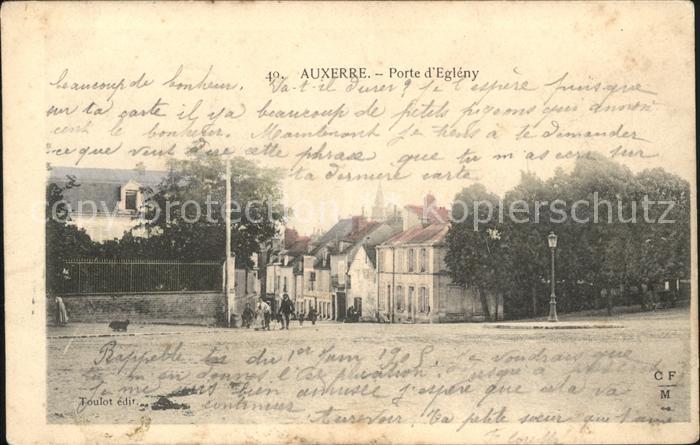 Auxerre Porte d'Egleny  / Auxerre /Arrond. d Auxerre
