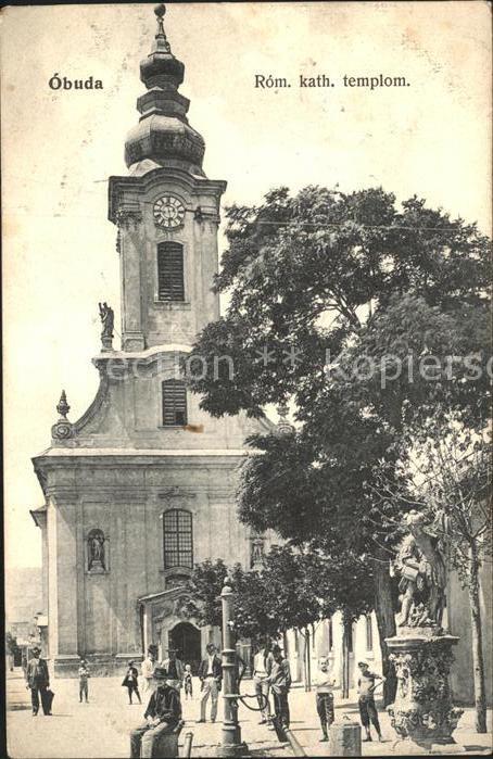 Budapest Obuda Rom. Kath. templom / Budapest /