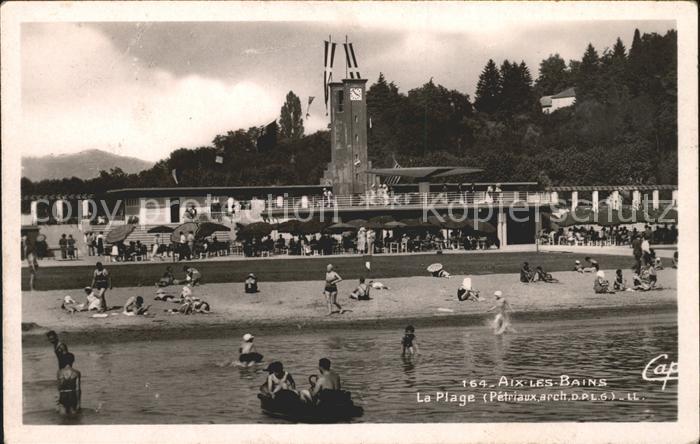 Aix-les-Bains La Plage  / Aix-les-Bains /Arrond. de Chambery