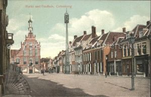 Culemborg Markt met Stadhuis / Culemborg /