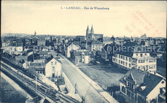 Landau Pfalz Rue de Wissembourg / Landau in der Pfalz /Landau Pfalz Stadtkreis