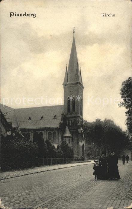 Pinneberg Kirche / Pinneberg /Pinneberg LKR