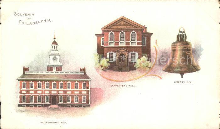 Philadelphia Pennsylvania Independence Hall Carpenter's Hall Liberty Bell / Philadelphia /