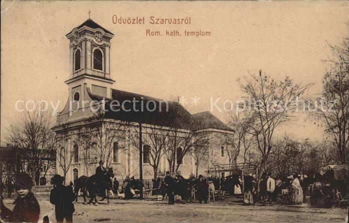 Budapest Szarvasrol Rom. kath. templom / Budapest /