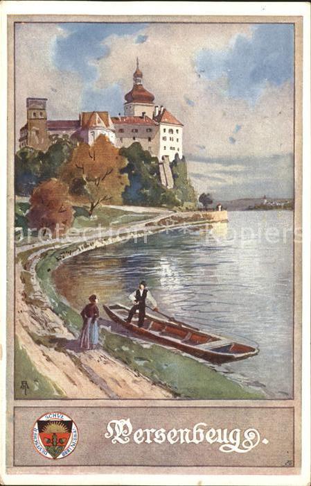 Persenbeug-Gottsdorf Boot Burg Paare / Persenbeug-Gottsdorf /Mostviertel-Eisenwurzen