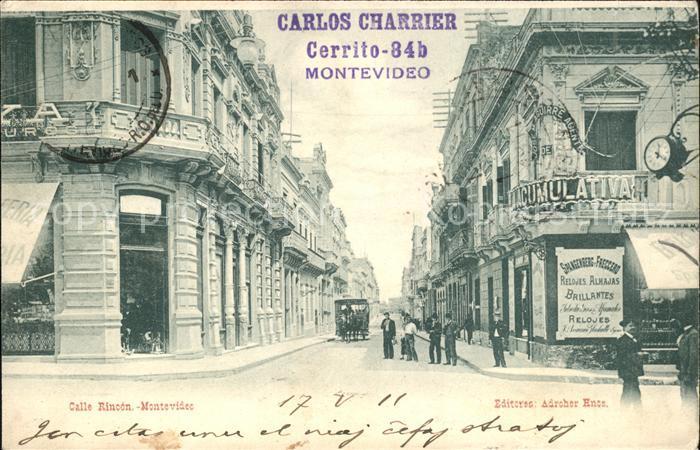 Montevideo Uruguay Calle Rincon / Montevideo /