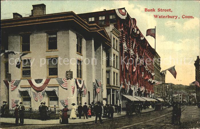 Waterbury Connecticut Bank Street / Waterbury /