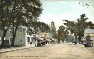 Long Branch New Jersey Broadway showing Post Office / Long Branch /