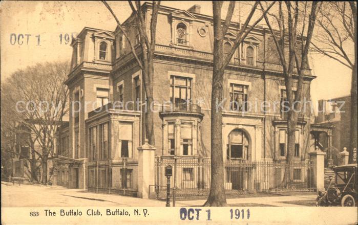 Buffalo New York The Buffalo Club / Buffalo /