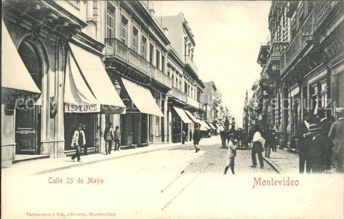 Montevideo Uruguay Calle 25 de Mayo / Montevideo /