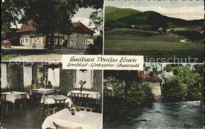 Kirchzarten Gasthaus Pension Loewen / Kirchzarten /Breisgau-Hochschwarzwald LKR