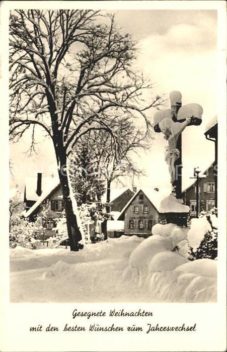 Zell Aichelberg Weihnachtskarte / Zell unter Aichelberg /Goeppingen LKR