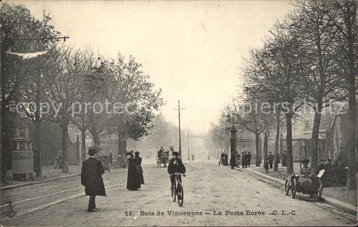 Paris Bois de Vincennes La Porte Doree / Paris /Arrond. de Paris