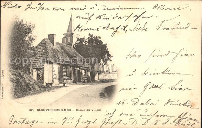 Blonville-sur-Mer Entree du Village / Blonville-sur-Mer /Arrond. de Lisieux