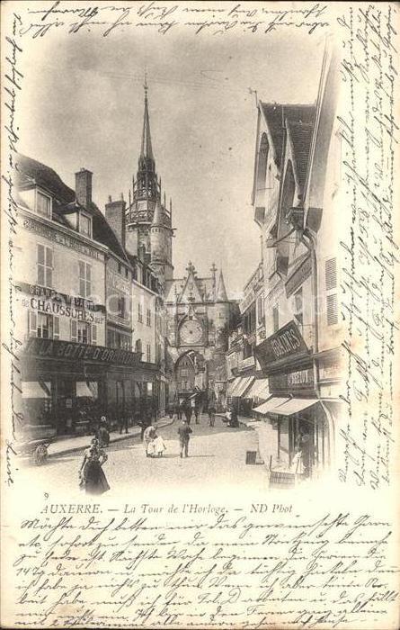 Auxerre Tour de l'Horloge / Auxerre /Arrond. d Auxerre