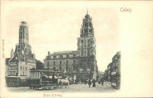 Calais Place d'Armes Pferdebus / Calais /Arrond. de Calais