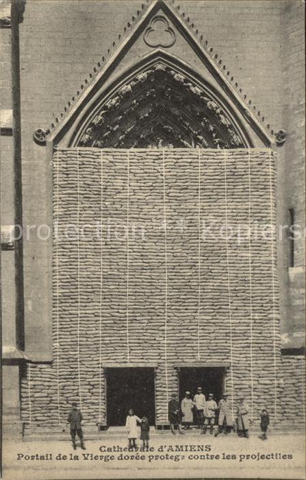Amiens Cathedrale Portail de la Vierge / Amiens /Arrond. d Amiens
