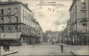 Alencon Rue Cazault Banque de France / Alencon /Arrond. d Alencon